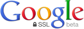 Logo du site de google encrypted